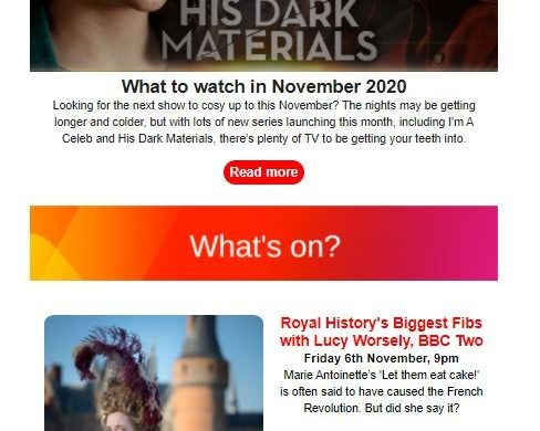 Freeview newsletter